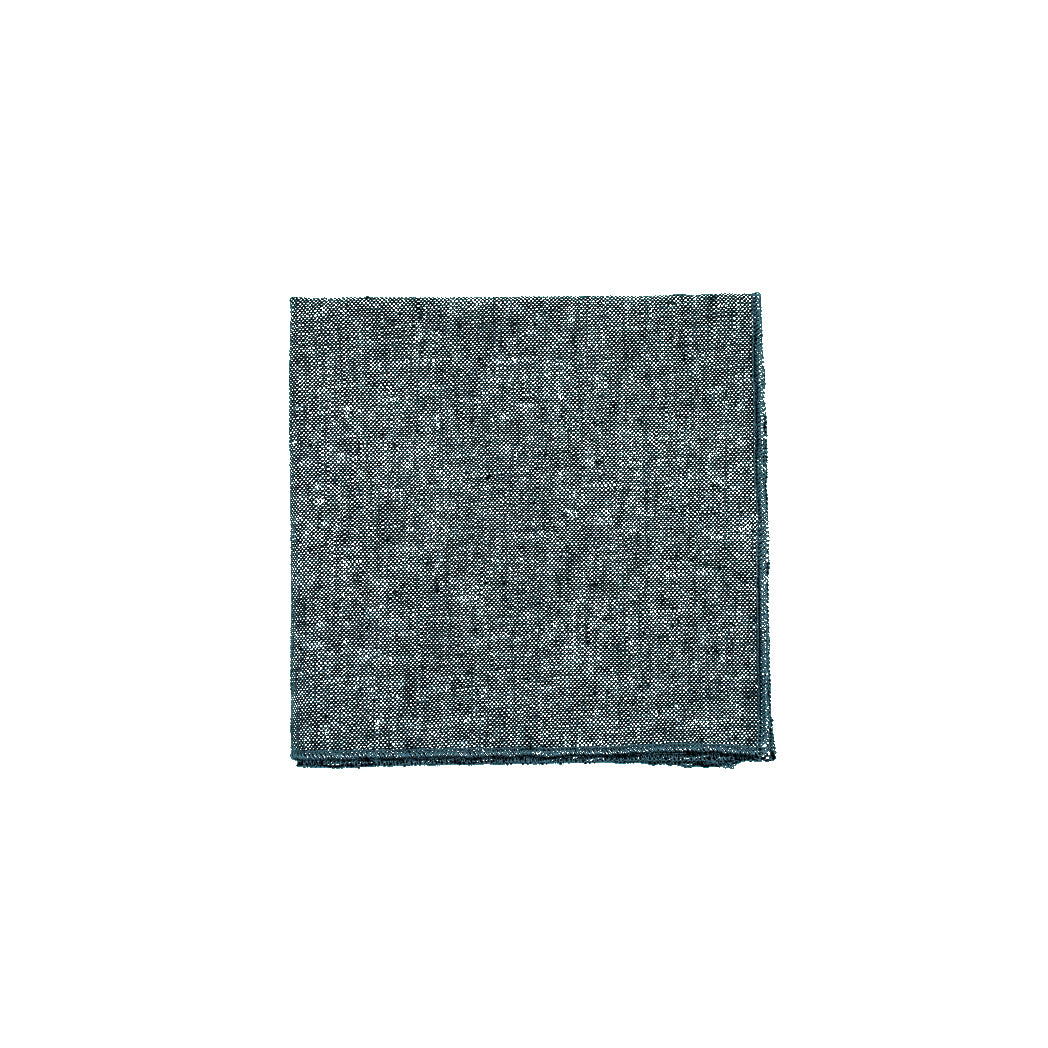 Weathered Gray Linen Cocktail Napkins
