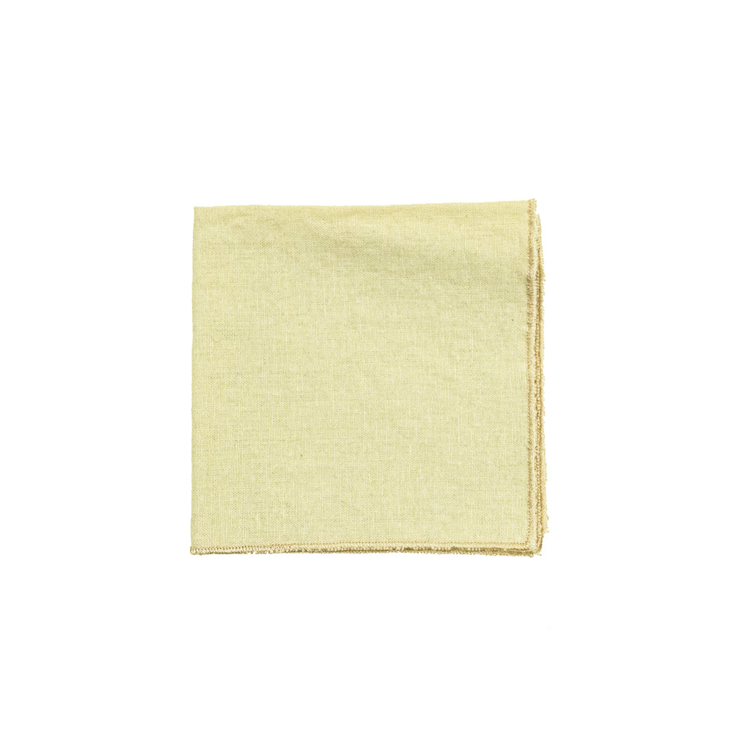 Bone Linen Cocktail Napkins