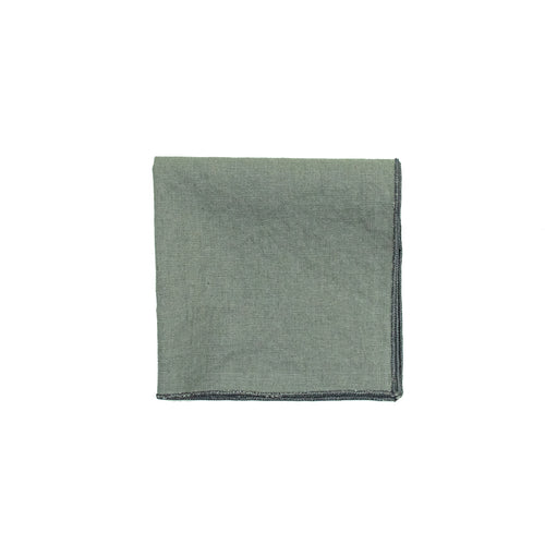 Gray Linen Cocktail Napkins