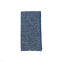 Load image into Gallery viewer, Indigo Linen Dinner Napkins