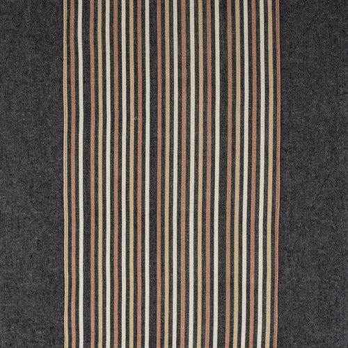 Espresso Linen + Forest Stripes Table Runner (Large)
