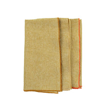 Load image into Gallery viewer, Honey Linen Dinner Napkins