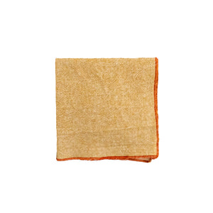 Honey Linen Cocktail Napkins