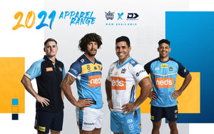 Gold Coast Titans 2021 National Rugby League Supporters Range | Dynasty Sport NRL Apparel
