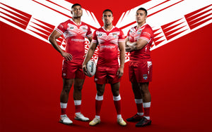 Tonga National Rugby League Team | Dynasty Sport Apparel Range