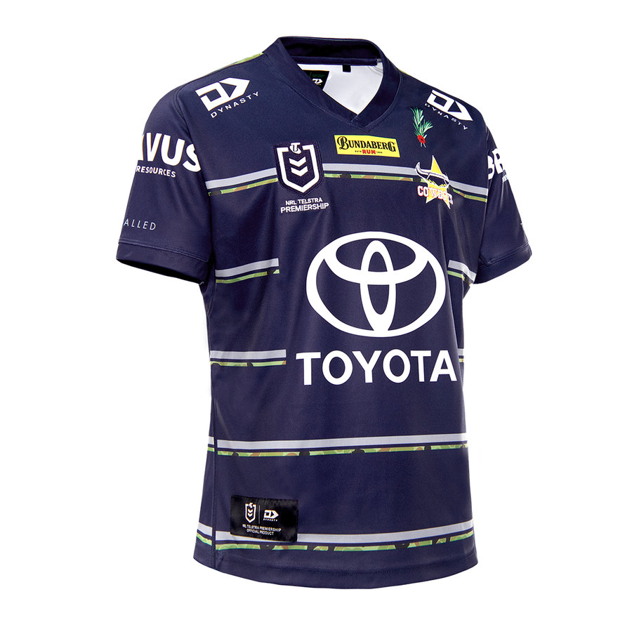 2021 North Queensland Cowboys Mens Replica Defence Jersey