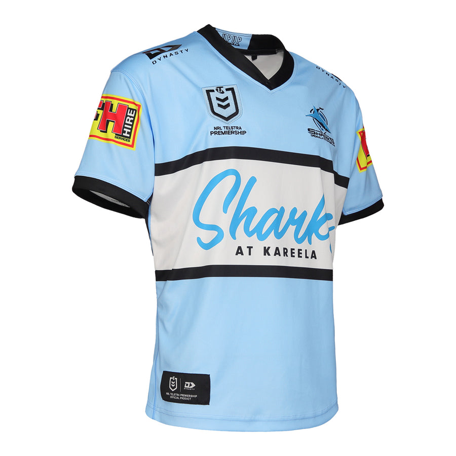2021 Cronulla Sharks Mens Replica Home Jersey