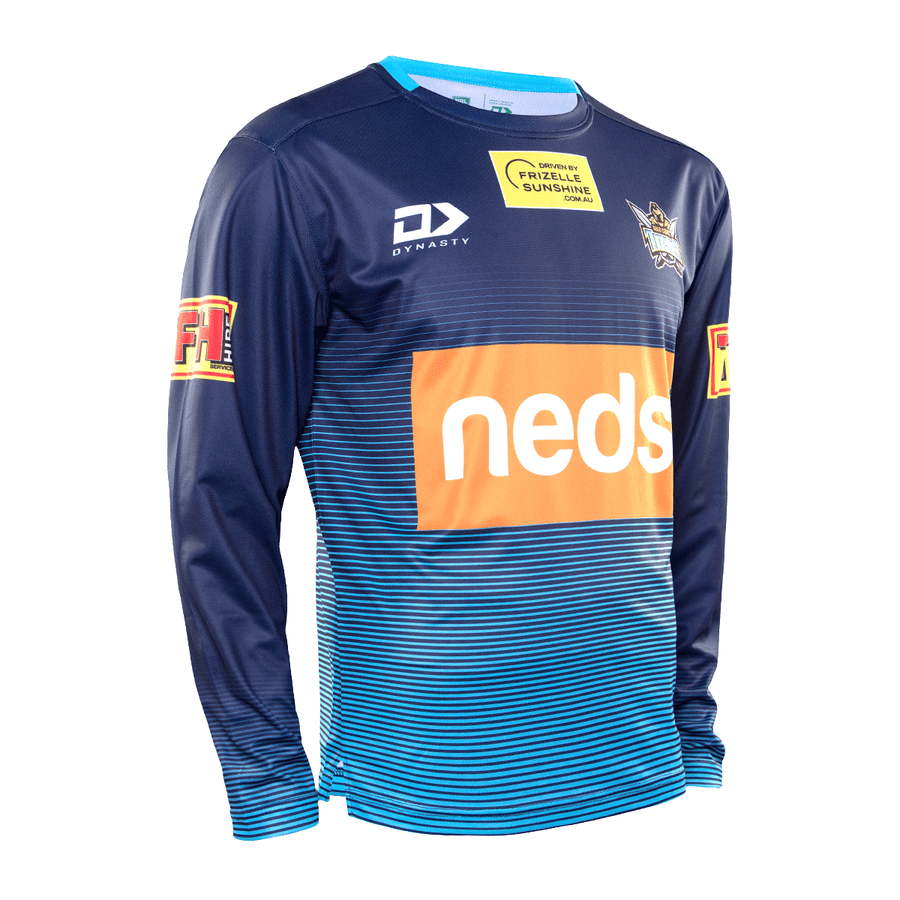 2020 Gold Coast Titans Mens Training Long Sleeve Tee