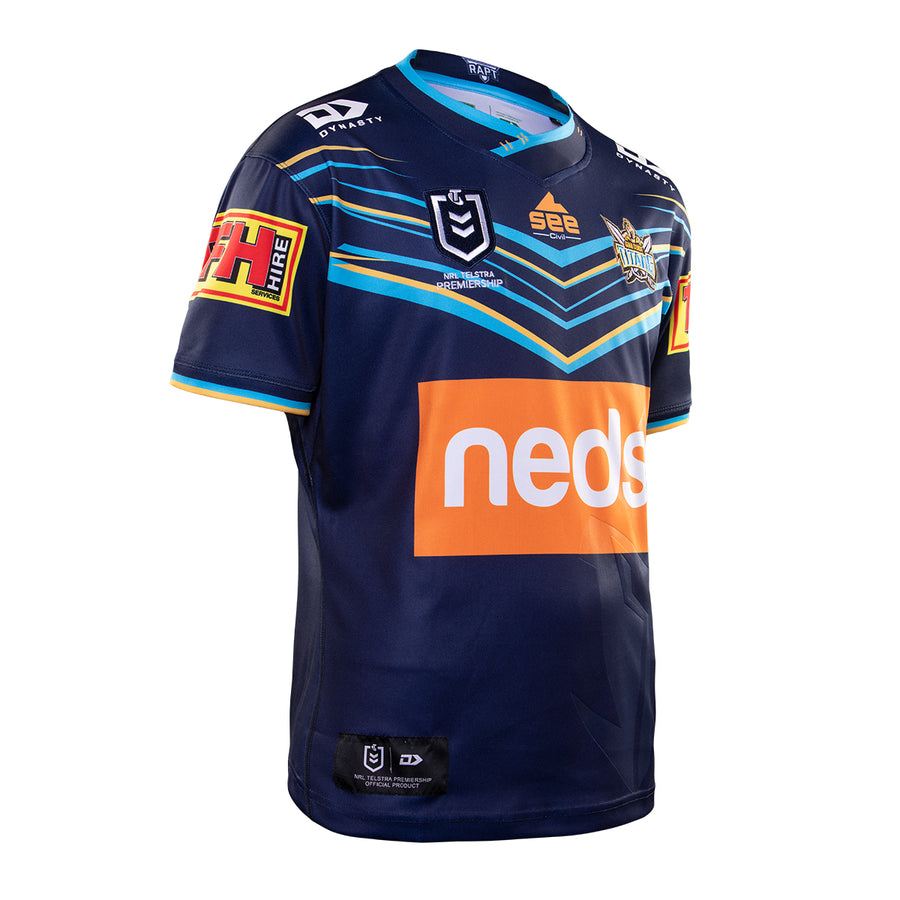 2020 Gold Coast Titans Mens Replica Home Jersey