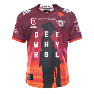 2021 Sea Eagles Mens Replica ANZAC Round Jersey