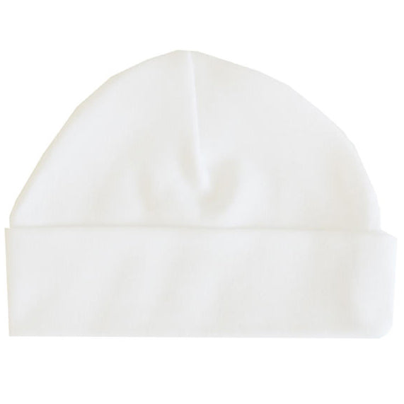 AH White Pure Cotton Beanie (GR)