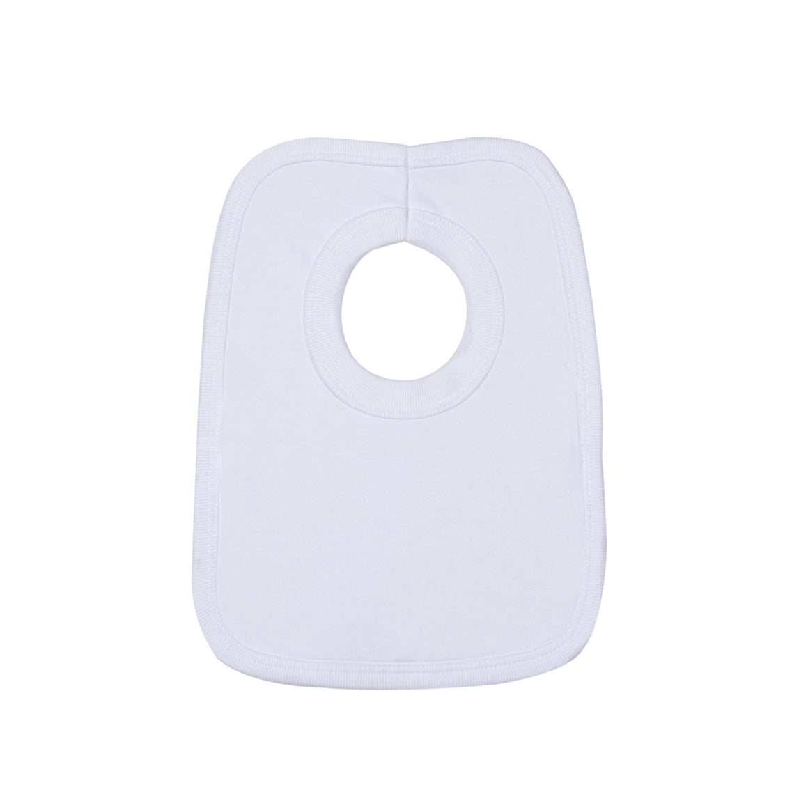 Anita's House Pure Cotton Bib - White