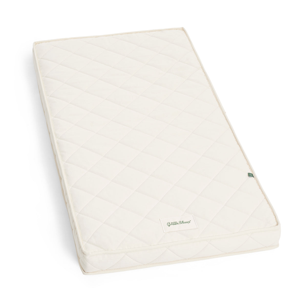 The Little Green Sheep Natural Twist 60x120 Cot Mattress