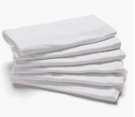 100% Cotton Muslin Squares - Pack of 6 (GR)