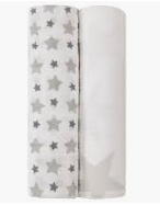 Aden + Anais Classic Swaddle 2-Pack (GR)