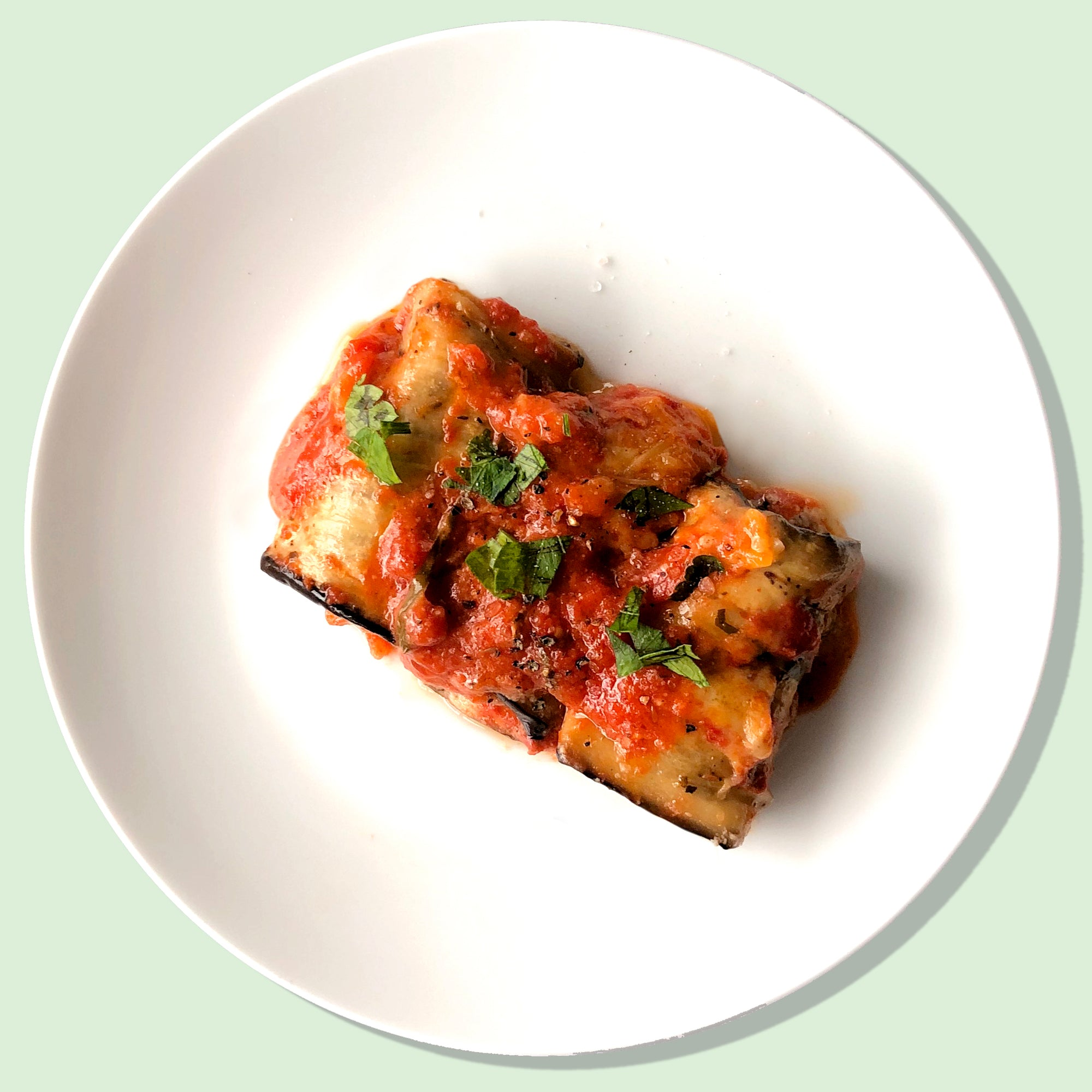 Eggplant Rollatini with Dibble Sour Cream
