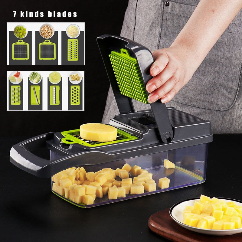 Quick Cutting Vegetable Slicer