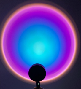 AuroraGlow™ Rainbow Sunset Projector