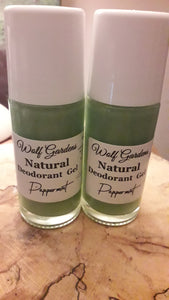 Deodorant Gel's  with mineral Alum