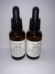 Ear wax removal oil | Aids ear infections & pain | 100% Herbal product