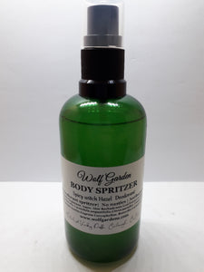 Body spritzer | Natural spicey deodorant spray Witch hazel & Aloe vera  | No nasties