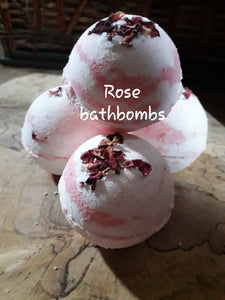 Bathbombs Natural with epsom salt | Natural pampering