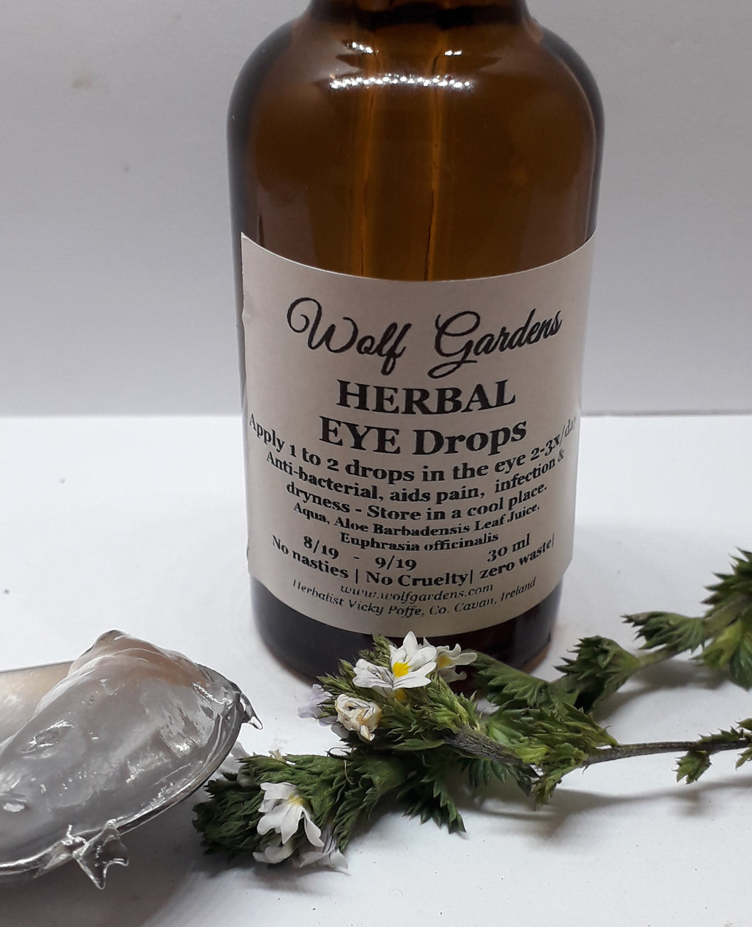 Eye drops  | herbal & natural | No nasties