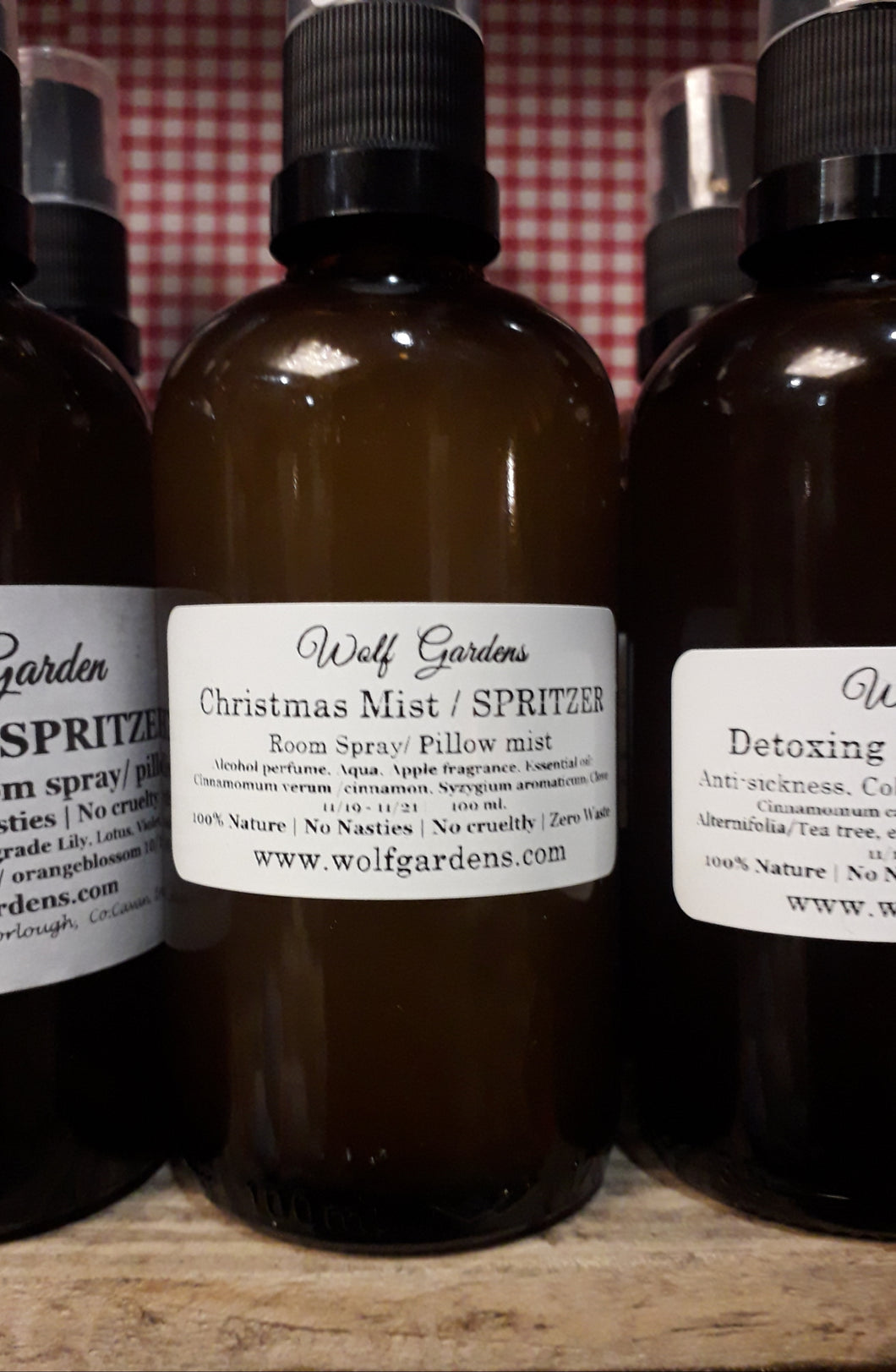 Perfume spritzer or pillow spray Aromatherapy | many scents available