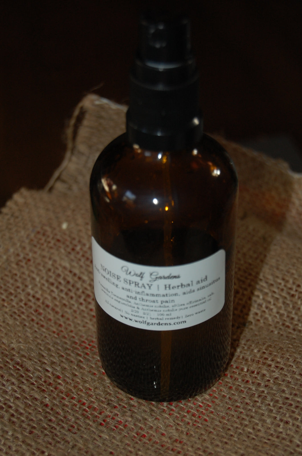 Nose spray healing natural blend