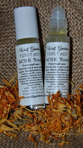 Acne toner roll on |  Herbal toner for spots