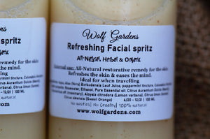 Refreshing Facial Spritz | Ideal for when traveling