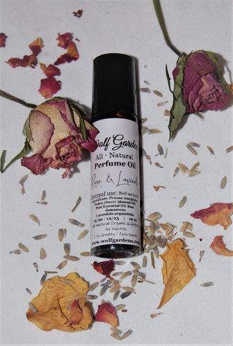 Perfume oils  Roll- on | All-natural Aromatherapy in a bottle
