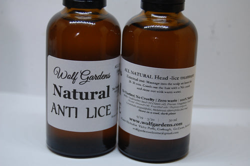 anti-Lice oil | all-natural lice treatment | no nasties