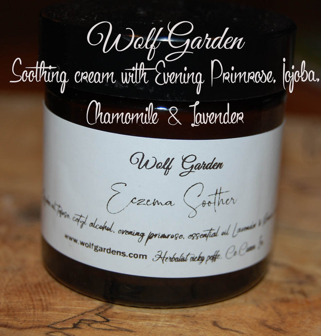 Eczema soothing cream lavender & chamomile | 100% natural ingredients | No nasties