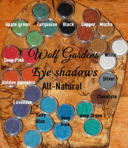 Eye shadow All-Natural & All colours