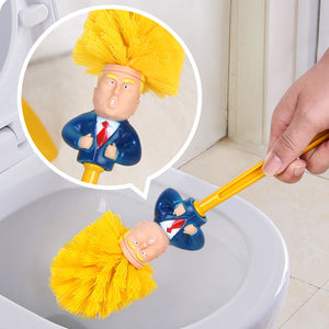 Creative Donald Trump Brush Toilet