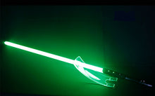 Load image into Gallery viewer, Jedi Sith LED Light Saber Force FX Lightsaber with Loud Sound Star Wars