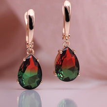Load image into Gallery viewer, CZ Dangle Earrings