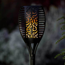 Load image into Gallery viewer, Solar Powered LED Flickering Flame Torch