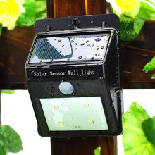 Load image into Gallery viewer, Motion Sensor Solar Waterproof Wall Light