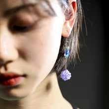 Load image into Gallery viewer, Grape Ball Earring