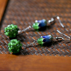 Grape Ball Earring