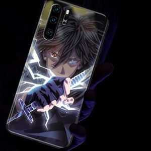 HOT SALE! Cool induction light phone case!NARUTO!