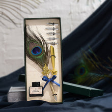 Load image into Gallery viewer, Feather Dip Pen Gift Set