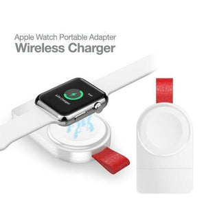 Portable Wireless Charging Station for Apple Watch