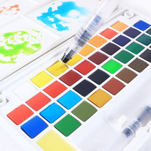 Load image into Gallery viewer, Professional Superior Portable Solid Watercolor Paint Set