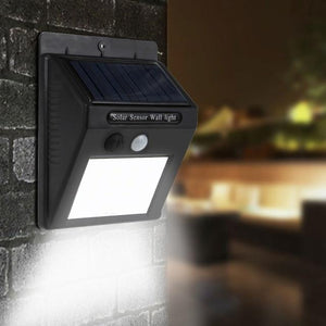 Motion Sensor Solar Waterproof Wall Light
