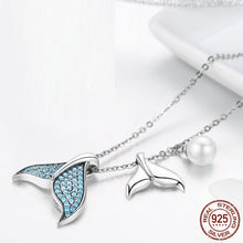 Load image into Gallery viewer, Mermaid Tail 925 Silver