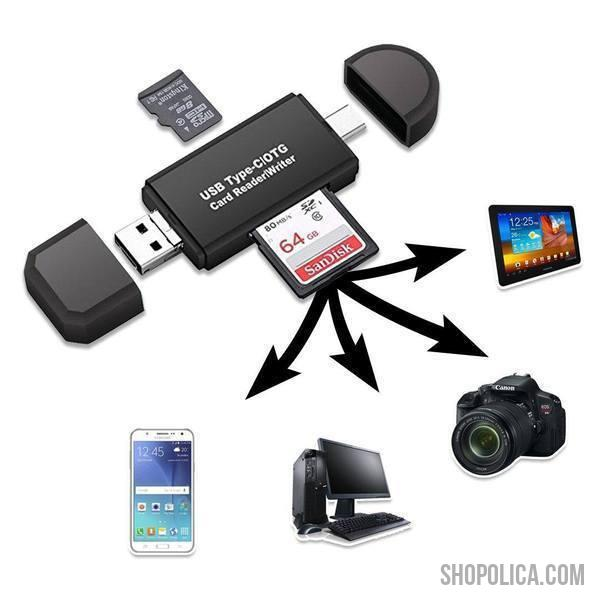 Mobile Card Reader for Android Phones & Tablets-Mobile Accessories-Shopolica-Shopolica