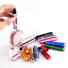 Load image into Gallery viewer, Portable Mini Aluminum Refillable Perfume Container